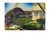 The Picket Fence, 1924 Giclee-trykk av George Wesley Bellows