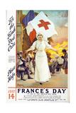 France's Day, 1915 Giclée-vedos