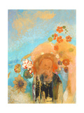Evocation of Roussel, c. 1912 Giclee Print by Odilon Redon