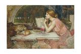 Circe (The Sorceress) 1911 Giclée-tryk af John William Waterhouse