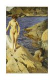 Nudes; Nakt, 1902 Giclée-tryk af Anders Leonard Zorn