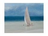 Fishermen, Kilifi, 2012 Giclée-tryk af Lincoln Seligman