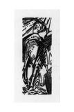 Horse Drinking (Lankheit 832), 1912 Giclée-vedos tekijänä Franz Marc