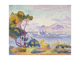 Antibes, Afternoon; Antibes, Apres-Midi, 1908 Reproduction procédé giclée par Henri Edmond Cross