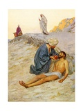 The Good Samaritan Impressão giclée por William Henry Margetson
