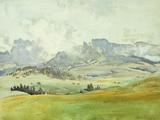 In the Dolomites, 1914 Reproduction procédé giclée par John Singer Sargent