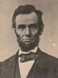Portrait of Abraham Lincoln, November 1863, Printed c.1910 Fotografisk tryk af Alexander Gardner