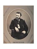 Platinum Rice Print of Ulysses S. Grant, 1865, Printed 1901 Giclée-tryk af Alexander Gardner