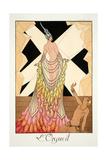 Pride, from 'Falbalas and Fanfreluches, Almanach des Modes Présentes, Passées et Futures', 1925 Reproduction procédé giclée par Georges Barbier
