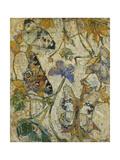 Butterflies; Les Papillons, 1918 Giclée-tryk af Josef Albert