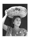Woman in Tehuantepec, Mexico, 1929 Fotografisk trykk av Tina Modotti