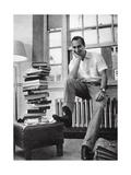 The Aga Khan While a Student at Harvard University, 1958 Photographic Print
