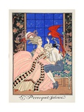 The Jealous Parrot, 1919 Giclee Print by Georges Barbier
