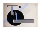 Proun N 89 (Kilmansvaria), c.1925 Lámina giclée por El Lissitzky
