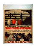 General Exhibition for Sanitary Milk Supply, 1903 Giclee Print by German School