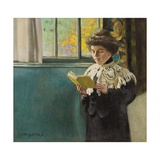 Woman Reading by a Window, c.1904 Giclee Print by Félix Vallotton