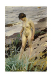 Sandhamn Study, 1914 Giclée-tryk af Anders Leonard Zorn
