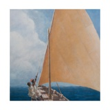 Dhow, Kilifi, 2012 Giclee Print by Lincoln Seligman