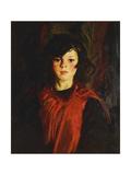 Mary Ann (Mollie), 1926 Giclée-tryk af Robert Henri