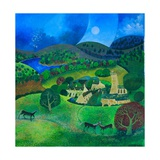 Devonshire Village, 2008 Giclee Print by Lisa Graa Jensen