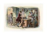 Illustration for a Tale of Two Cities Reproduction procédé giclée par Hablot Knight Browne