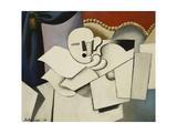 The Clown; Le Pierrot, 1922 Giclee-trykk av Roger de La Fresnaye
