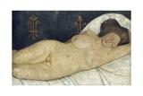 Reclining Female Nude, 1905-06 Gicléetryck av Paula Modersohn-Becker