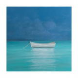 White Boat, Kilifi 2012 Giclee Print by Lincoln Seligman