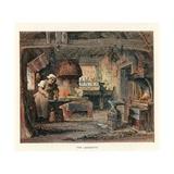 Illustration for Barnaby Rudge Reproduction procédé giclée par Hablot Knight Browne