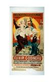 Poster for Elixir Godineau, c.1900 Reproduction procédé giclée par  French School
