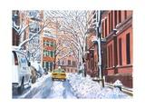 Snow, West Village, NYC, 2012 Reproduction procédé giclée par Anthony Butera