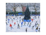Skating, Natural History Museum, 2012 Giclee Print by Andrew Macara