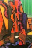 Juan Gris Violin and Guitar Posters por Juan Gris