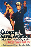 Cadets for Naval Aviation Take That Something Extra, 1943 Giclee-trykk av McClelland Barclay