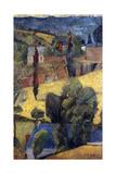 Landscape; Paysage, 1906 Gicléetryck av Paul Serusier