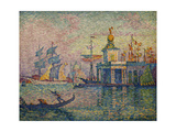 Venice- the Customs House; Venise- La Douane de Mer, 1908 Giclee Print by Paul Signac