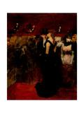 Ball At the Paris Opera Impressão giclée por Jean-Louis Forain