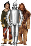 Tin Man, Cowardly Lion and Scarecrow - The Wizard of Oz 75th Anniversary Lifesize Standup Cardboard Cutouts
