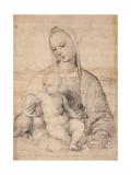 Madonna With the Pomegranate Reproduction procédé giclée par  Raphael