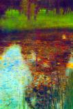 Gustav Klimt The Marsh Posters por Gustav Klimt