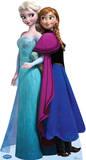 Elsa and Anna - Disney's Frozen Lifesize Standup Cardboard Cutouts
