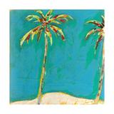 Palm Duo Kunstdrucke von Jan Weiss