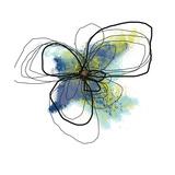 Azure Petals Two Affiches par Jan Weiss