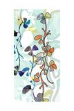 Floral Layers 1 Kunstdrucke von Jan Weiss