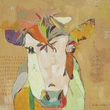 Mom Cow Poster di Jennifer Mercede
