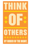 Think of Others Poster di John Golden