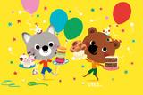 Mouk's Happy Birthday Pósters