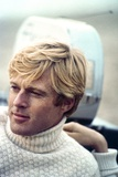 The Way We Were, Robert Redford, Directed by Sydney Pollack on the Set, 1973 Photo