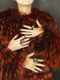 Multiple Hands Fotografie-Druck von Graeme Montgomery