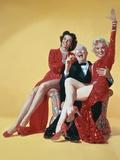 Gentlemen Prefer Blondes, Directed by Howard Hawks, 1953 Fotografia